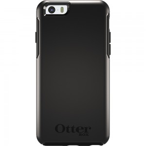 OtterBox SYMMETRY Case (No Belt Clip) for Apple iPhone 6, (Black)