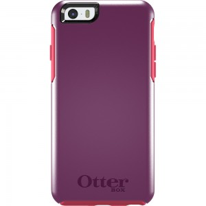 OtterBox SYMMETRY Case (No Belt Clip) for Apple iPhone 6, (Damson Berry)