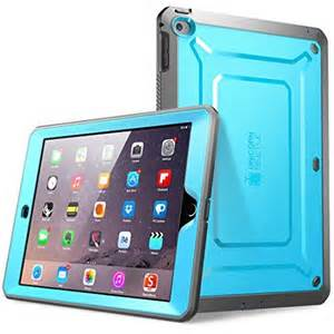Air-2 Unicorn Beetle PRO Full-body Rugged Case w/Built-in Screen Protector, Blue/Black
