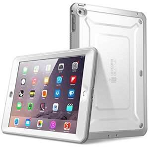 Air-2 Unicorn Beetle PRO Full-body Rugged Case w/Built-in Screen Protector, White/Gray