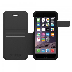 AFC Trident Apollo Folio Case for Apple iPhone 6 PLUS in Black