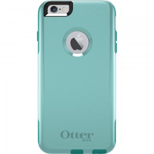 OtterBox COMMUTER Rugged Slim Case For Apple iPhone 6-PLUS (No Belt Clip)(Aqua Sky)