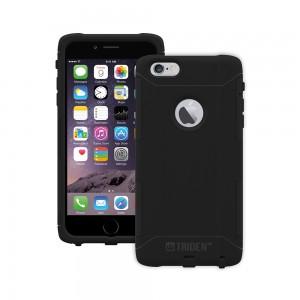 Trident Aegis Case Compatible with Apple iPhone 6 Plus - Black (No Belt Clip)