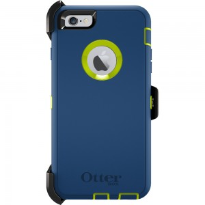 OtterBox DEFENDER Case for Apple iPhone 6Plus w/Clip (Electric Indigo Blue)