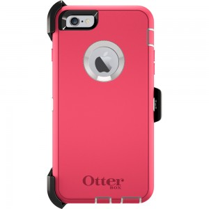 OtterBox DEFENDER Case for Apple iPhone 6Plus w/Clip (Neon Rose)