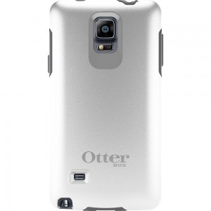 OtterBox SYMMETRY Rugged Slim Case (No Belt Clip) For Galaxy Note 4, (Glacier)