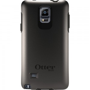 OtterBox SYMMETRY Rugged Slim Case (No Belt Clip) For Galaxy Note 4, (Black)