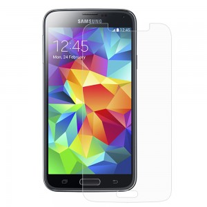 XFactor FITTED TEMPERED GLASS Screen Protector for Samsung Galaxy S5 - Clear