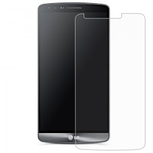 XFactor FITTED TEMPERED GLASS Screen Protector for LG G3 - Clear