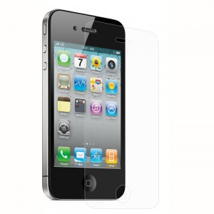 XFactor FITTED TEMPERED GLASS Screen Protector for Apple iPhone 4/4S - Clear