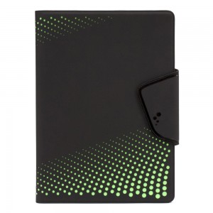 M-Edge - Sneak Folio for Small Devices in Black/Lime