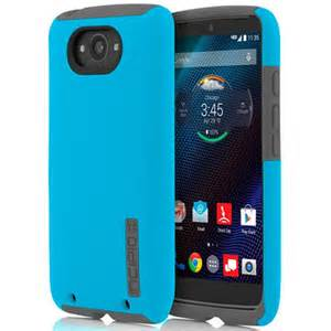 Incipio Technologies - DualPro Case for Motorola Droid Turbo in Cyan/Gray