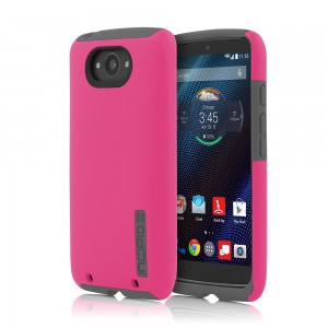 Incipio Technologies - DualPro Case for Motorola Droid Turbo in Pink/Grey