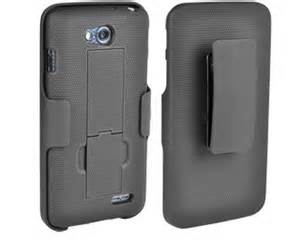 Holster and Protective Cover Combo w/Rubberized Texture For Droid Maxx Black