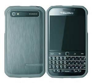 Body Glove SATIN Case for Blackberry Classic in Charcoal