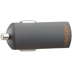 Ventev Universal 1.0A SINGLE USB-A Port Mini Vehicle Charger (w/out USB Cable)