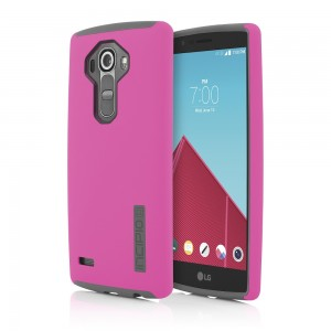 Incipio Technologies - DualPro Case for LG G4 in Pink/Charcoal