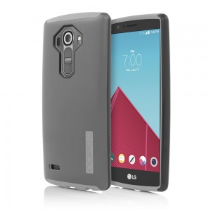Incipio Technologies - DualPro SHINE Case for LG G4 in Silver/Gray