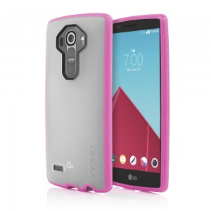 Incipio Technologies - Octane Case for LG G4 in Frost/Neon Pink