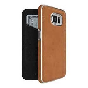 ADOPTED, Inc - Leather Folio Case Galaxy S6 Saddle Brown/Silver