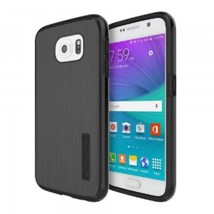 Incipio Technologies - DualPro SHINE Case for Samsung Galaxy S6 in Black