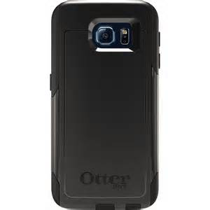OtterBox COMMUTER Rugged Slim Case (No Belt Clip) For Samsung Galaxy S6 (Black)