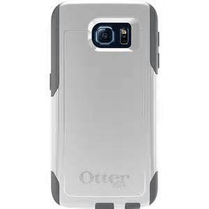 OtterBox COMMUTER Rugged Slim Case (No Belt Clip) For Samsung Galaxy S6 (Glacier)