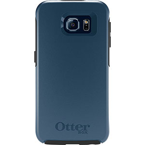 OtterBox SYMMETRY Slim Case (No Belt Clip) For Samsung Galaxy S6 (City Blue)