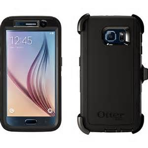 OtterBox DEFENDER Rugged Case w/Belt Clip For Samsung Galaxy S6 (Black)