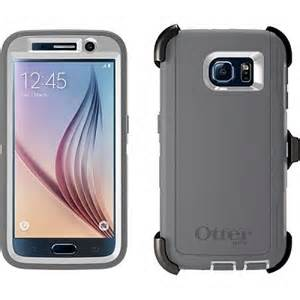 OtterBox DEFENDER Rugged Case w/Belt Clip For Samsung Galaxy S6 (Glacier)