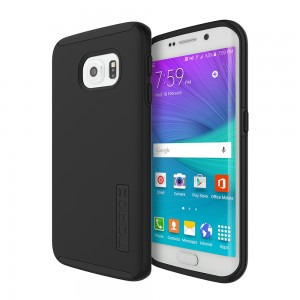 Incipio Technologies - DualPro Case for Samsung Galaxy S6 edge in Black