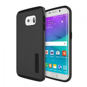 Incipio Technologies - DualPro SHINE Case Samsung Galaxy S6 edge in Black