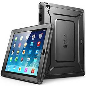 Galaxy Tab S2 Unicorn Beetle PRO Full-body Rugged Case w/Built-in Screen Protector, Black/Black