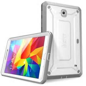Galaxy Tab S2 Unicorn Beetle PRO Full-body Rugged Case w/Built-in Screen Protector, White/Gray