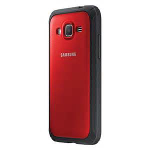 Samsung Protective Cover Case for Galaxy Core Prime in Red