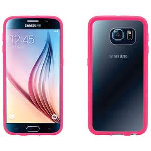 Griffin - Reveal Case for Samsung Galaxy S6 Hot Pink/Clear