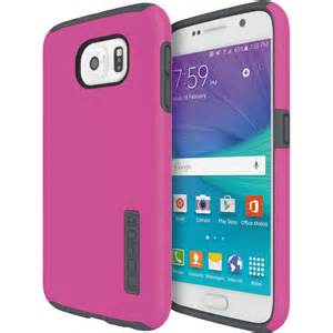 Incipio Technologies - DualPro Case for Samsung Galaxy S6 Pink/Charcoal