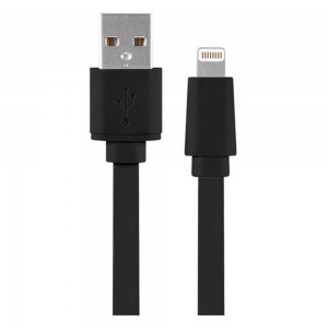 Xentris 8-Pin Charge/Sync Lightning to USB (4-Foot) Cable - Black