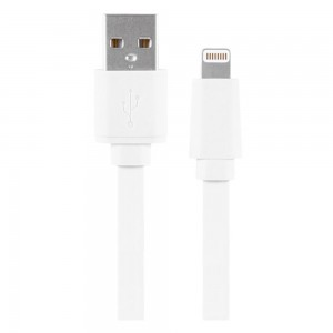 Xentris 8-Pin Charge/Sync Lightning to USB (4-Foot) Cable - White