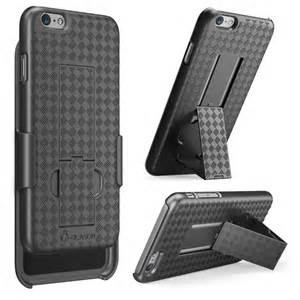 Premium FITTED COMBO CASE Holster & Protective Shell w/Kickstand & Belt Clip (Black)(Galaxy S7)