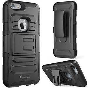 Premium FITTED Duo Armor Combo Case w/Stand and Belt Clip for Samsung Galaxy S7 (BLACK)