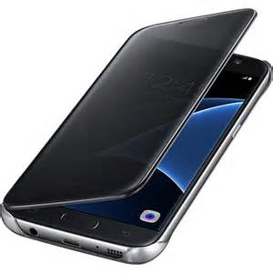 Samsung S-View Clear Flip Cover Samsung Galaxy S7 Black