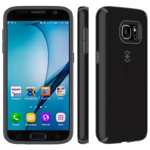 Samsung Galaxy S7 Speck CandyShell Black/Slate Grey