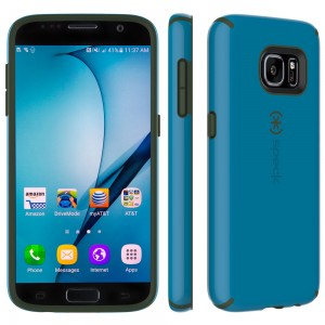 Samsung Galaxy S7 Speck CandyShell Breeze Blue/Dusty Green