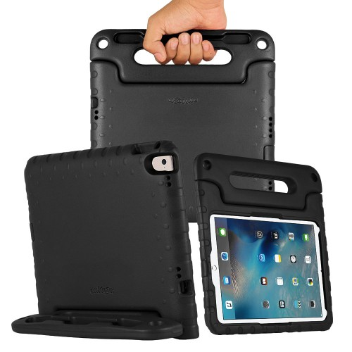ANITOON Fitted iPad Pro 9.7 Protective Case Cover [Shockproof] [Made from Tough EVA Foam] BLACK