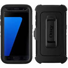 OtterBox Defender Rugged Case w/Belt Clip For Samsung GS7 Active (Black)