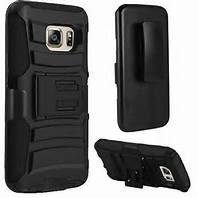 Premium Duo Armor Combo Case w/Stand and Belt Clip for Samsung Galaxy S7 Active (BLACK)