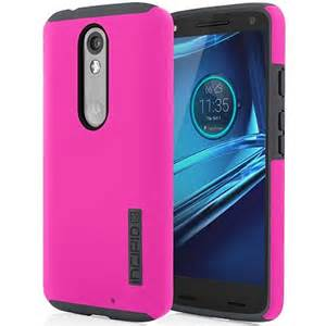 Incipio Technologies - DualPro Case for Motorola Droid Maxx 2 Pink/Gray