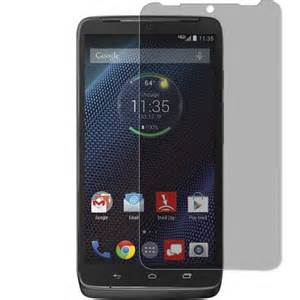 XFactor FITTED TEMPERED GLASS Screen Protector for Droid Maxx 2 Clear