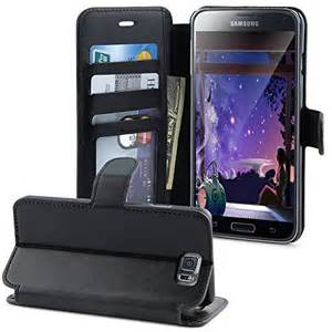 LK Galaxy S5 Wallet Case w/Luxury PU Leather Case Flip Cover w/Card Slots & Stand (BLACK)